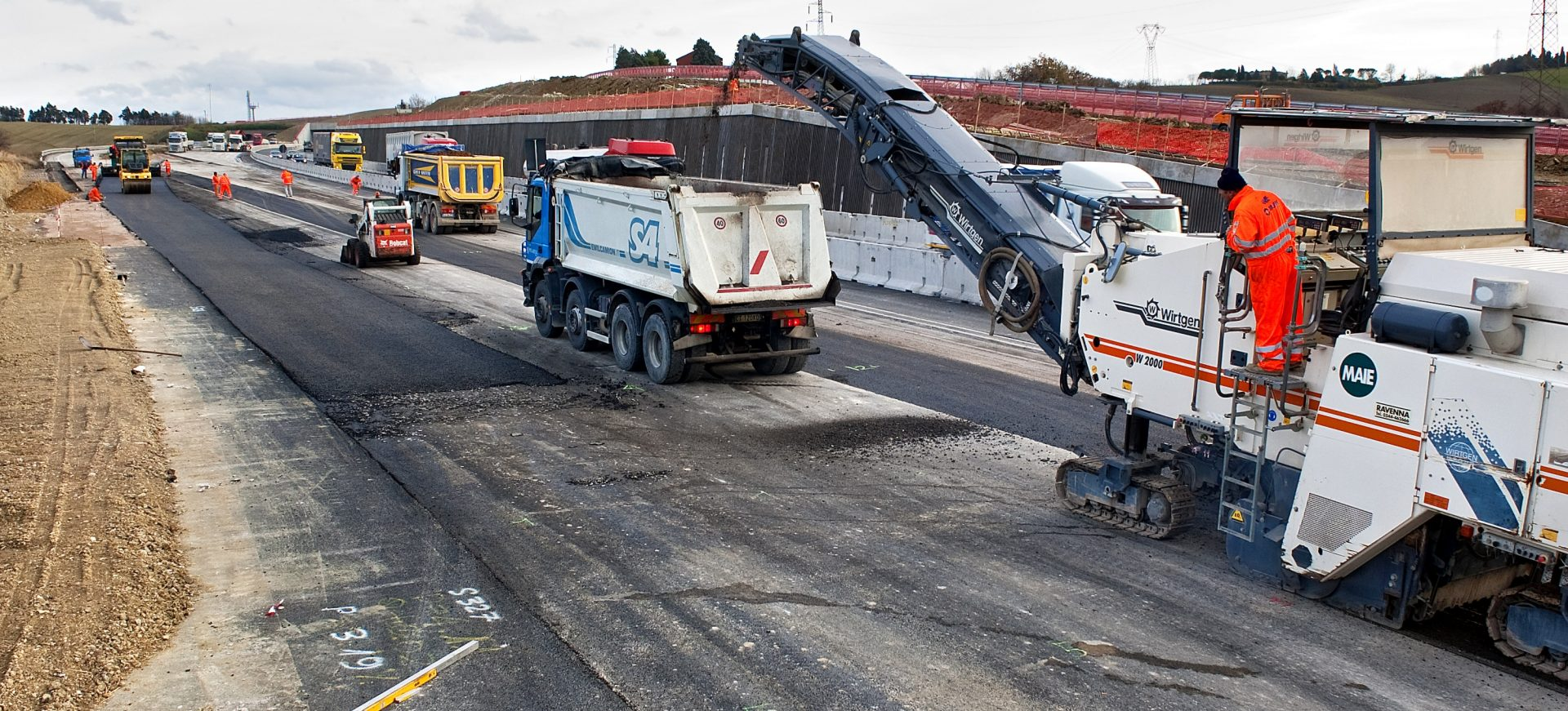 Ampiamento tratto autostradale da Rimini Nord a Pedaso per la realizzazione della terza corsia