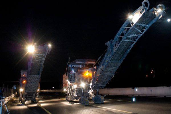 Catrame - Lavori di ampliamento alla 3^ corsia da Rimini nord a Pedaso