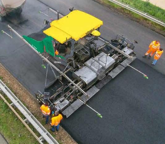 Lavori notturni - asfaltatura