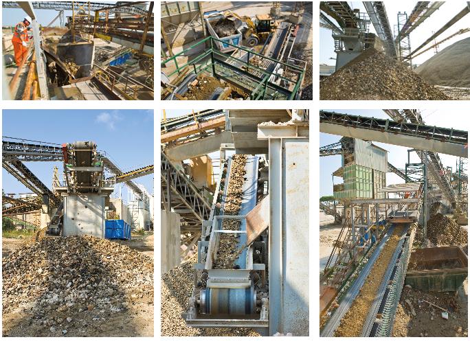 Recupero materiali da costruzione