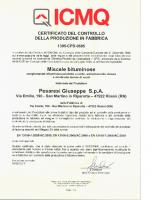 Certificato CE CGB ICMQ 2011