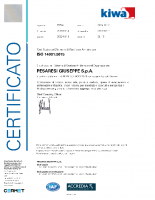 Certificato ISO 14001 2019-2022