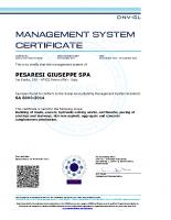 Certificato SA 8000 DNV 2017-2020