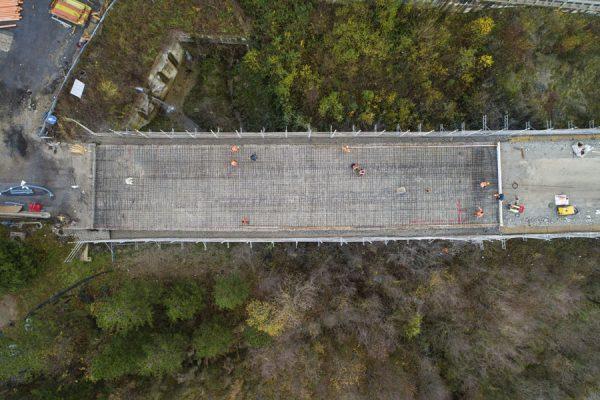 Cantiere E45 viadotto Savio, Bagno di Romagna-Verghereto.