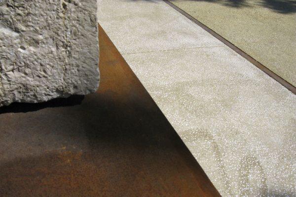 Documentazione fotografica pavimentazione parco archeologico c/o Ponte Tiberio,Rimini