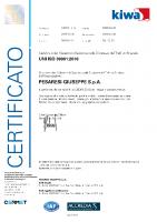 Certificato ISO 39001 KIWA CERMET del 2020-2023