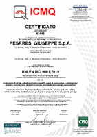 Certificato ISO 9001 Attività d'Impresa ICMQ 2021-2024 n. 02648